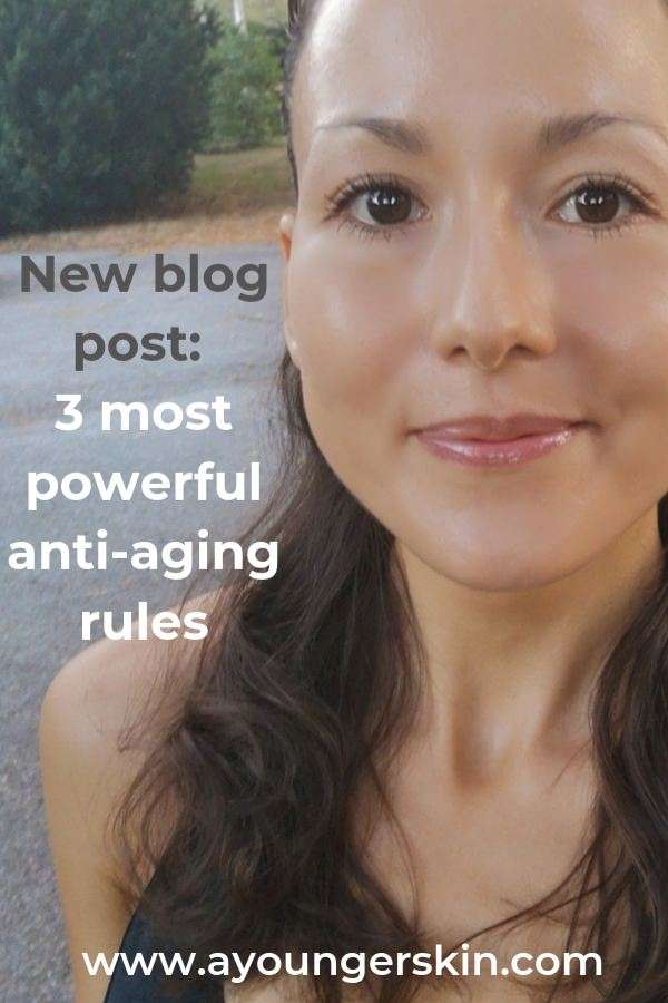 Learn about the three crucial rules when it comes to anti aging skin care. No beauty care will be worth the money unless you have these skin firming rules as a base. #antiagingtips #skincaretips #preventwrinkles