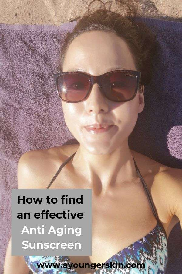 This is your ultimate guide to the number 1 Anti-Aging secret: Finding the most effective sunscreen to prevent aging. Learn how to use it correctly and it will be the best wrinkle cream you can find. #preventaging #youngerlookingskin #youthfulskin #reverseaging #healthyaging #reverseskindamage #beautycare #skinfirming #antiagingskincare #tipsforbetterskin