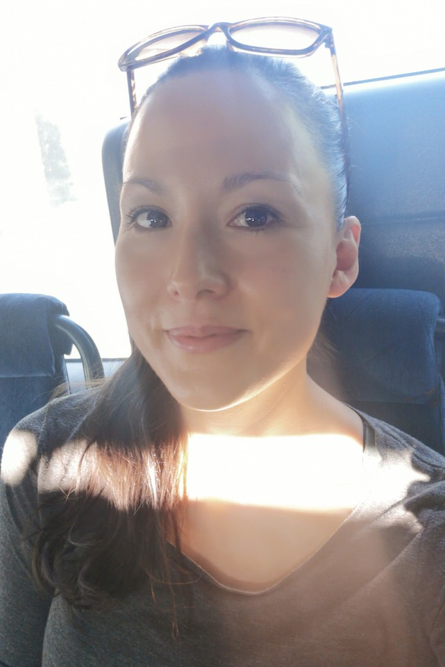 Me with some sun in my face. My skin is full of carotenoids so I am extra protected against the sunrays.