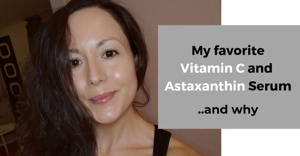 Vitamin C and Astaxanthin serum [Q&A + review of OZ Naturals Vitamin C serum with Astaxanthin]
