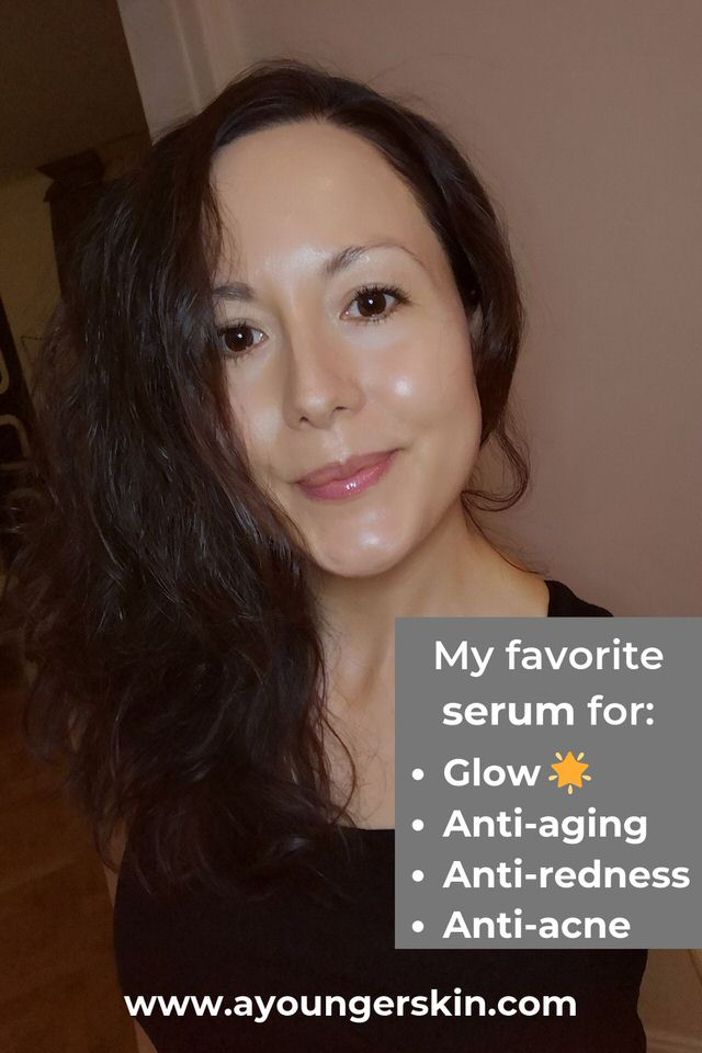 Glowing skin with the best astaxanthin- and vitamin-c serum.