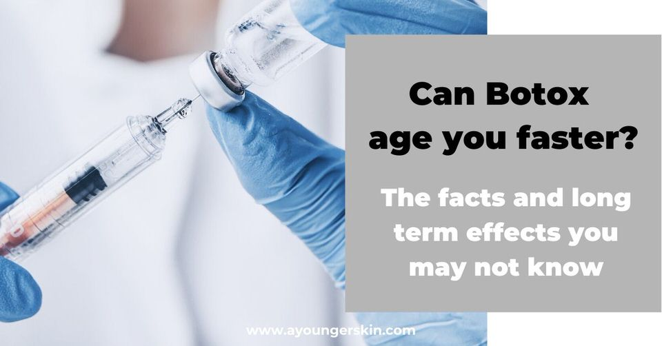 Can Botox make you look older? <br>[botox pros and cons, and the aging long term effects]