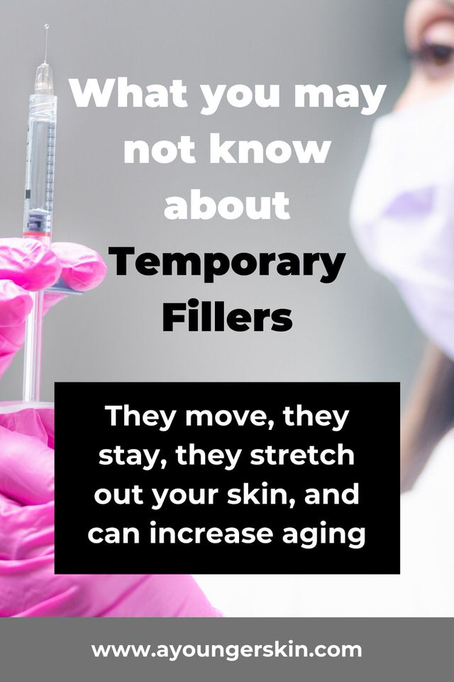 What you may not know about temporary fillers