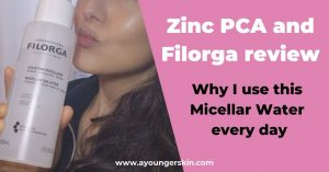 Zinc PCA and Filorga review – The product I use every day to restore collagen and prevent acne