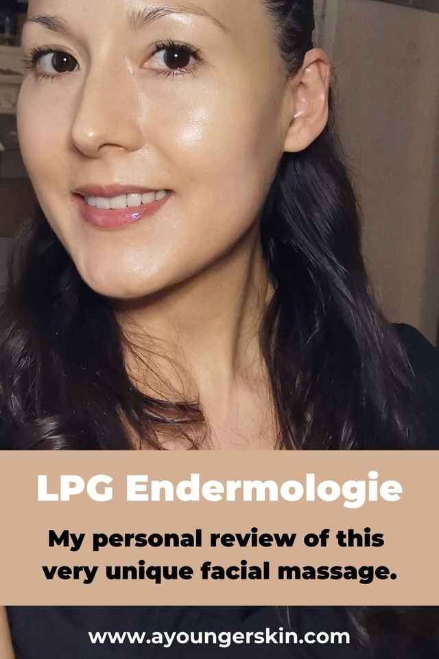 LPG Facial Endermologie - my review of this endermolift facial massage