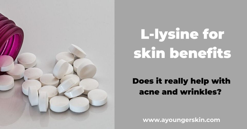 L lysine for acne and wrinkles [why I eat pea protein every day]
