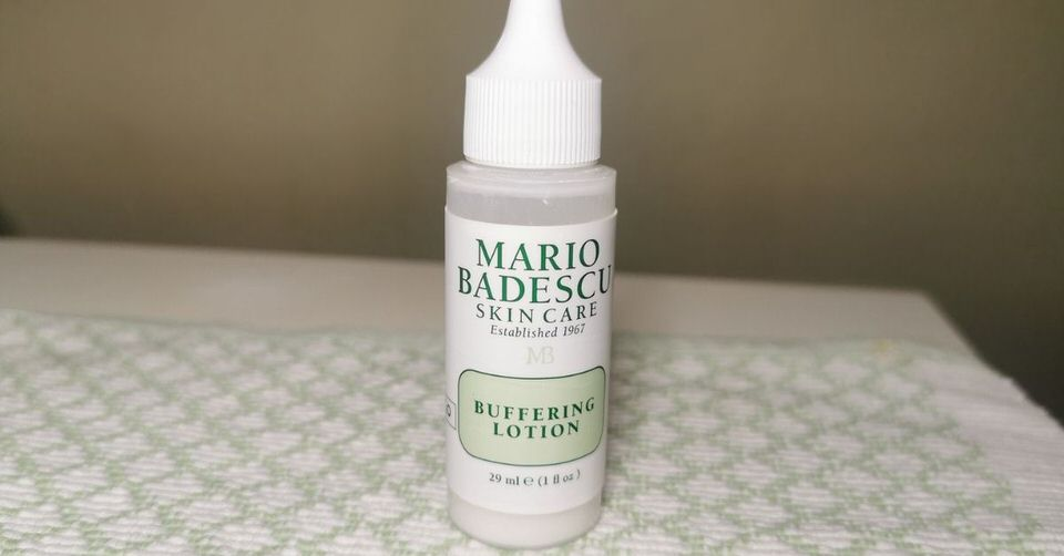 Buffering lotion from Mario Badescu - for under the surface pimples.