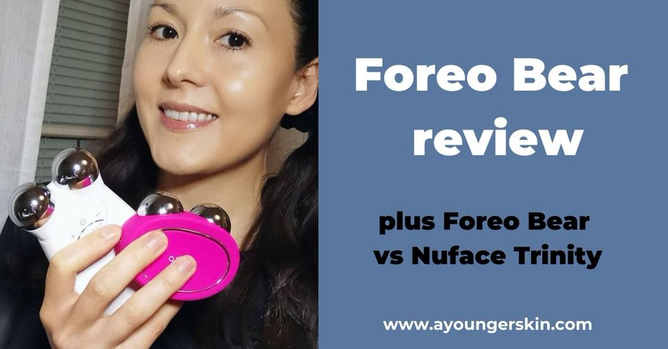 Foreo Bear review [+ Foreo Bear vs Nuface Trinity]