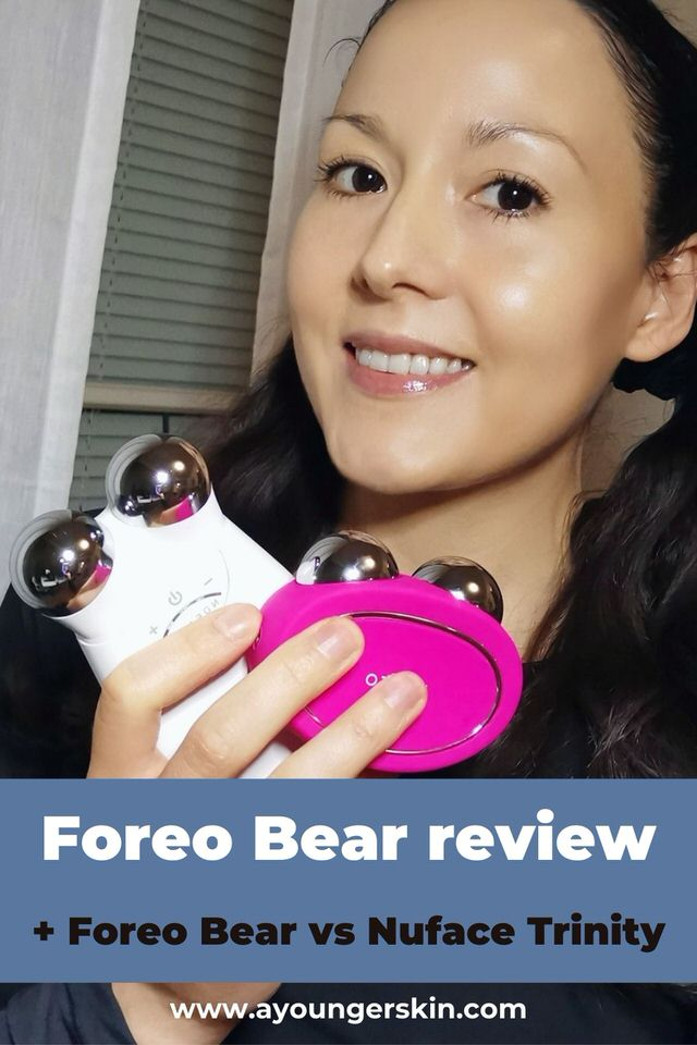 My review of Foreo Bear - plus comparison of Foreo Bear vs Nuface Trinity