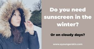 Read more about the article Why you should wear sunscreen every day