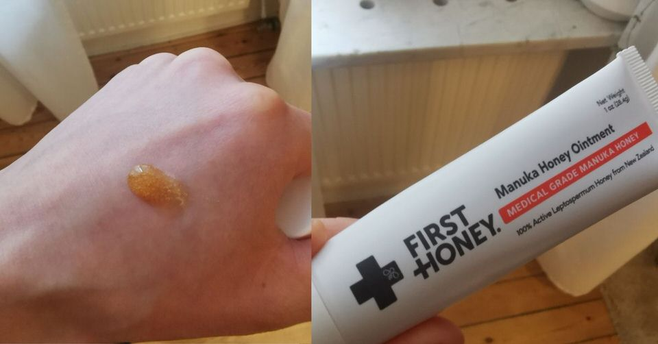 First  honey medical grade manuka honey. A wonderful product for all kinds of acne.