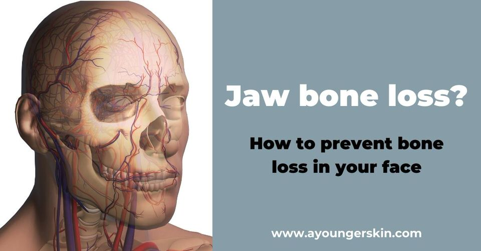 Jaw bone loss? [how to prevent facial bone loss]