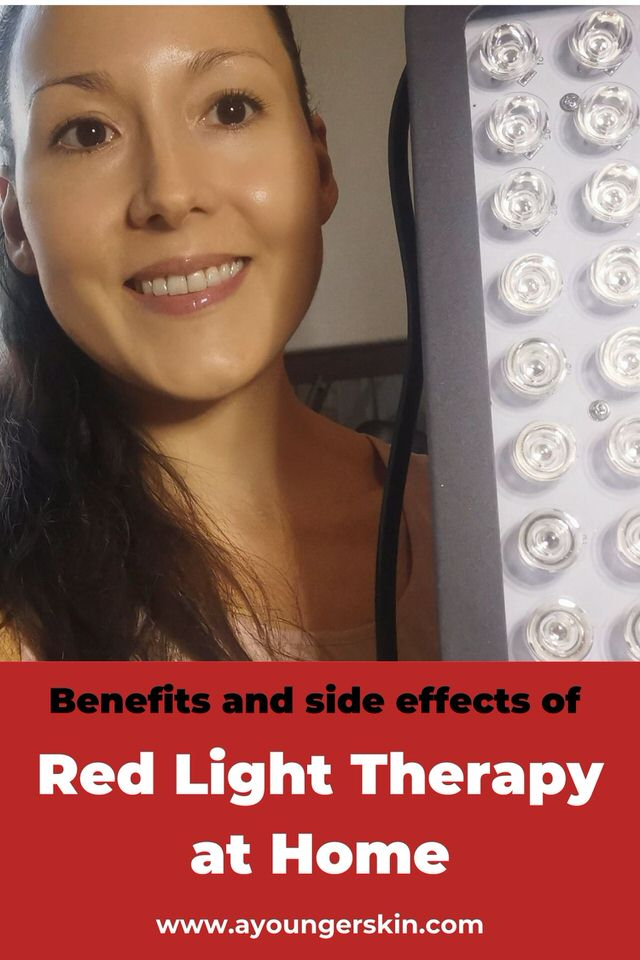 Benefits and side effects of using red light therapy at home. Plus review of Hooga health 300.